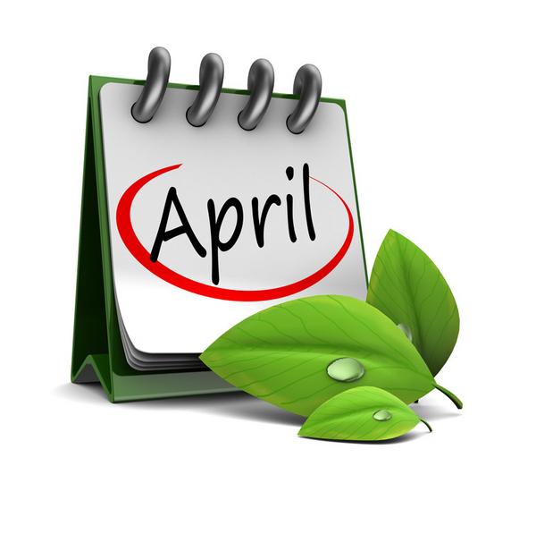 April aktivitet COLOURBOX6285018